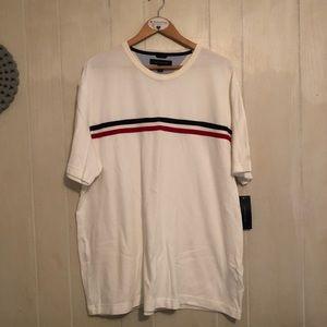 Tommy Hilfiger Men's White Short Sleeve Shirt XXL
